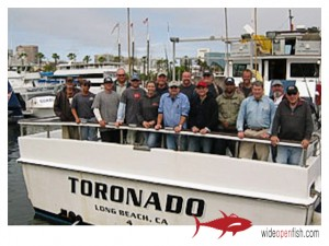 Long Beach Sportfishing Pierpoint Landing Toronado Charter FIshing Boat