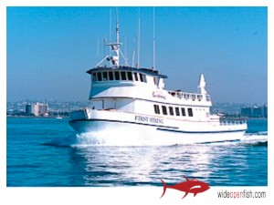 San Diego HM Landing First String Fishing Charter Boat