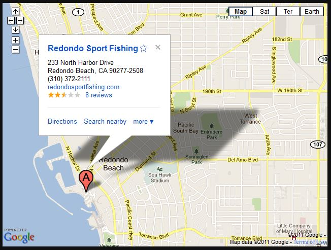 Los Angeles County Redondo Sportfishing Boats